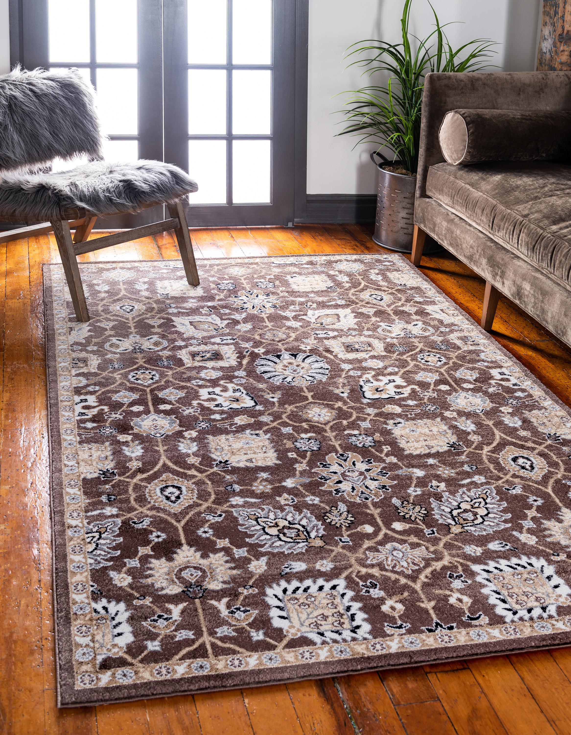 Brown 4 X 6 Heritage Rug Irugs Uk