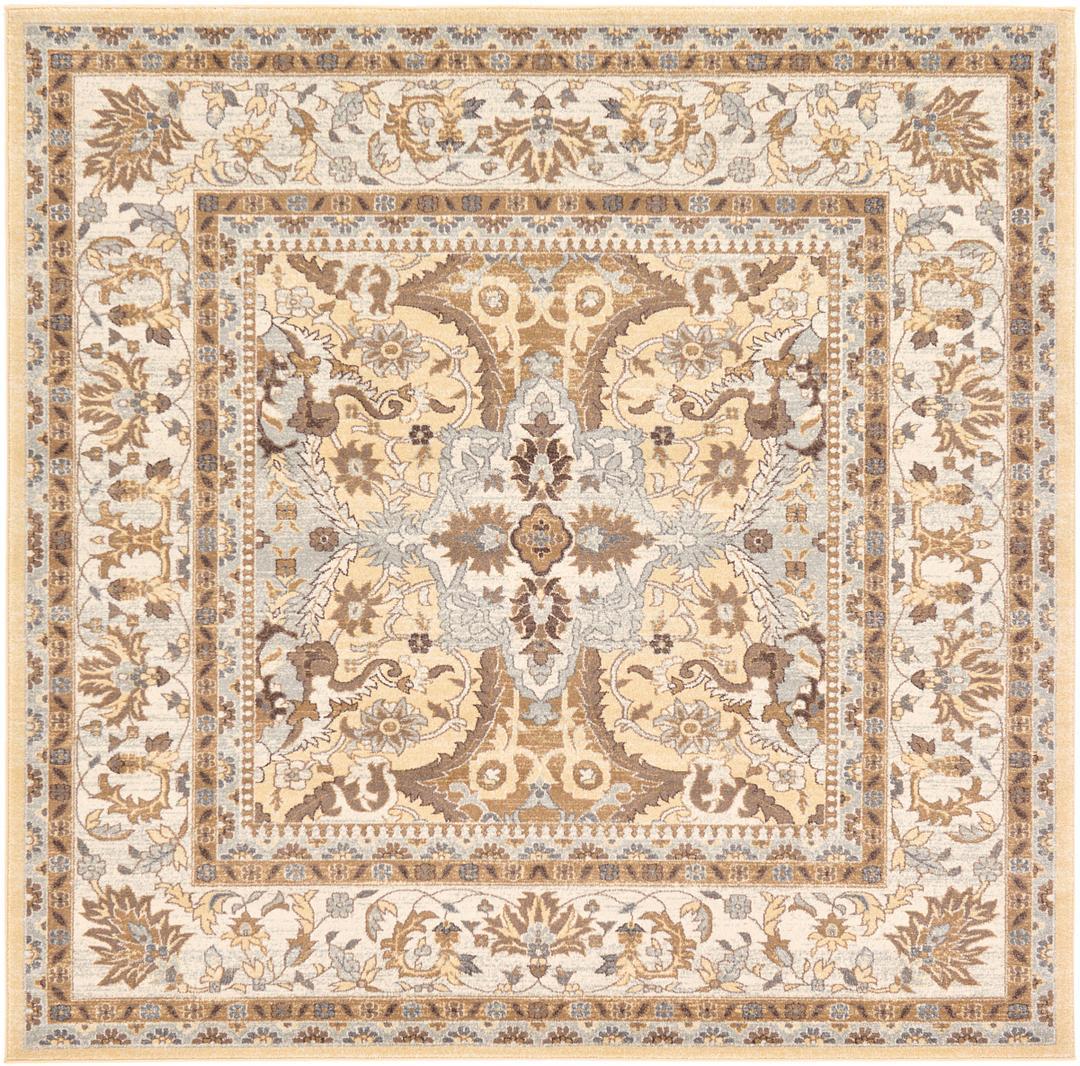 8u0027 4 x 8u0027 4 heritage square rug