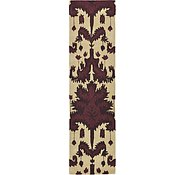 Link to 2' 6 x 9' 8 Ikat Runner Rug