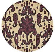 Link to 4' 10 x 4' 10 Ikat Round Rug