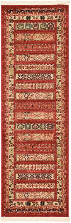 Rust Red 2 X 6 Kashkuli Gabbeh Runner Rug Area Rugs