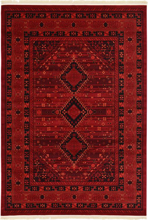 Red 213cm X 305cm Bokhara Rug Area Rugs Au Rugs