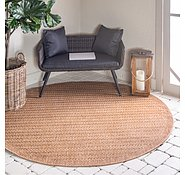 Link to 6' x 6' Outdoor Border Round Rug