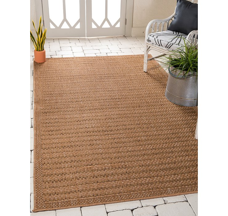 4' x 6' Outdoor Border Rug