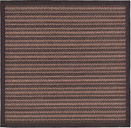 Brown  6' x 6' Outdoor Border Square