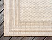 Unique Loom 4' x 6' Outdoor Border Rug thumbnail image 9
