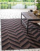 Unique Loom 3' 3 x 5' Outdoor Modern Rug thumbnail image 1