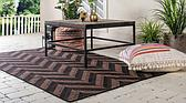 Unique Loom 3' 3 x 5' Outdoor Modern Rug thumbnail image 2