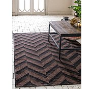 Link to Unique Loom 3' 3 x 5' Outdoor Modern Rug