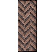Link to 2' 2 x 6' Outdoor Modern Runner Rug