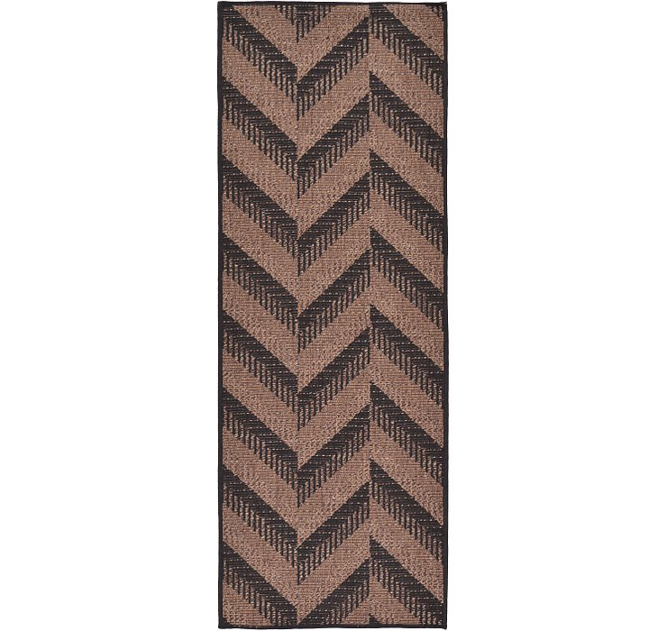 2' 2 x 6' Outdoor Modern Runner Rug