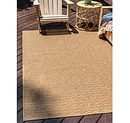 Link to Unique Loom 5' 3 x 8' Outdoor Modern Rug