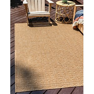Unique Loom 3' 3 x 5' Outdoor Modern Rug