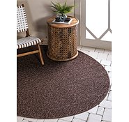 Link to Unique Loom 6' x 6' Outdoor Modern Round Rug