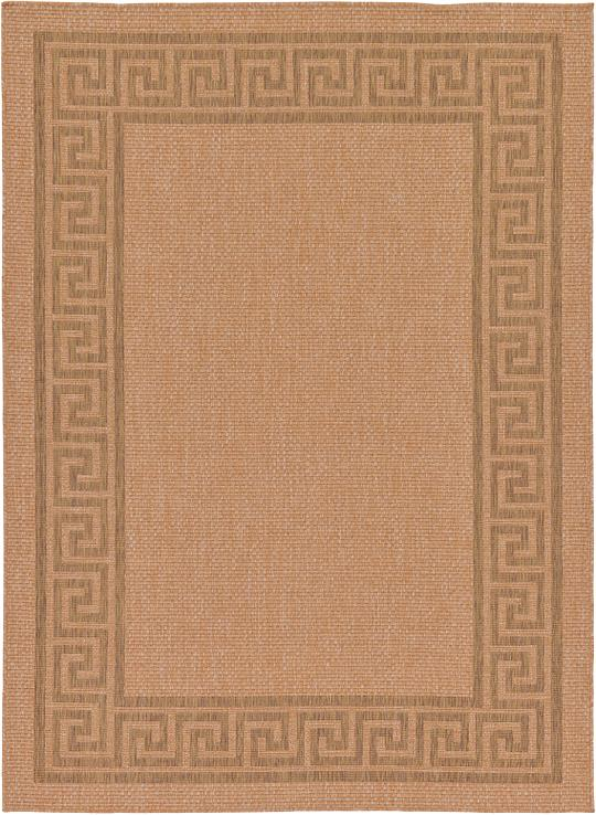 Light Brown 7 39 X 9 39 7 Outdoor Rug Area Rugs IRugs UK