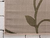 5' 3 x 8' Outdoor Botanical Rug thumbnail image 9