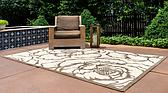 8' x 11' 4 Outdoor Botanical Rug thumbnail image 2