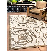 Link to 160cm x 245cm Outdoor Botanical Rug