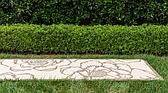 2' 2 x 6' Outdoor Botanical Runner Rug thumbnail image 3