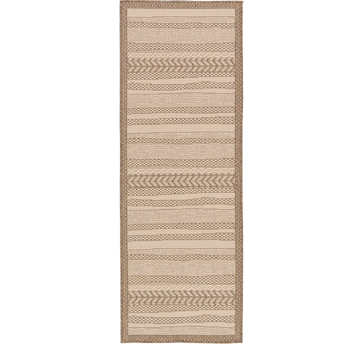 2' 2 x 6' Outdoor Border Runner Rug
