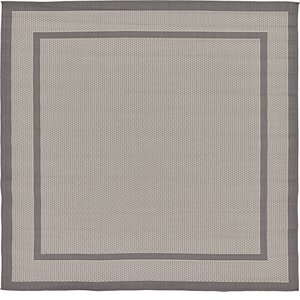 Link to 183cm x 183cm Outdoor Border Square Rug page