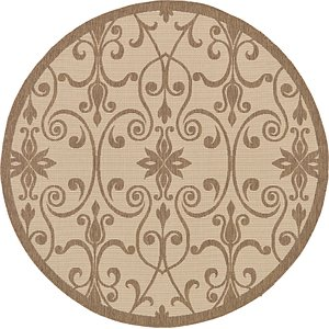 Link to 183cm x 183cm Outdoor Round Rug page