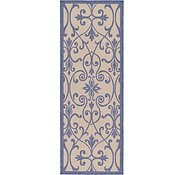 Link to 2' 2 x 6' Outdoor Botanical Runner Rug