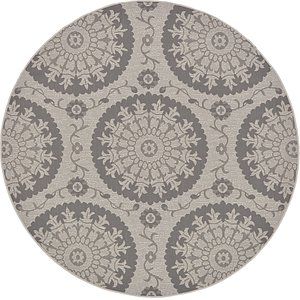 Link to 6' x 6' Outdoor Round Rug page