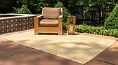 5' 3 x 8' Outdoor Botanical Rug thumbnail image 2