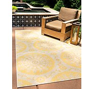 Link to 2' 2 x 3' Outdoor Botanical Rug