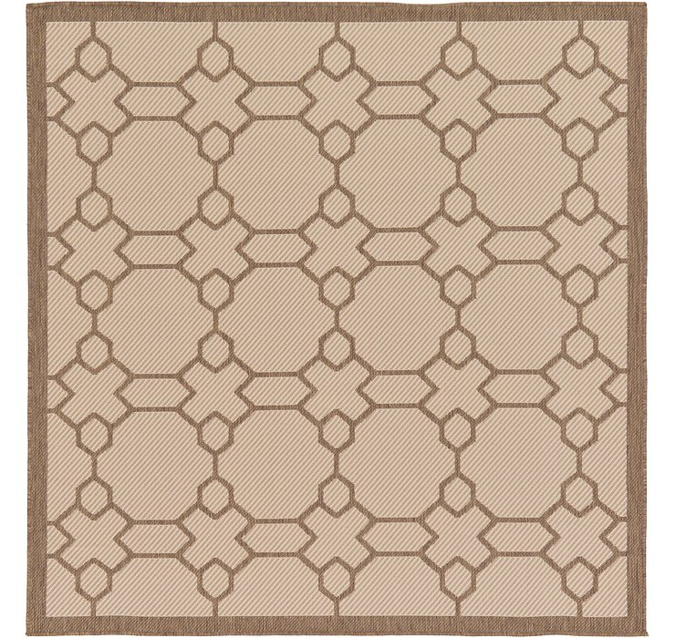 6' x 6' Outdoor Lattice Square ...