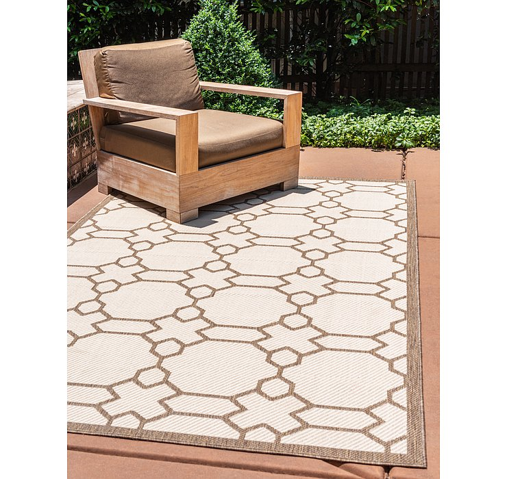 3' 3 x 5' Outdoor Trellis Rug