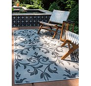 Link to 3' 3 x 5' Outdoor Botanical Rug