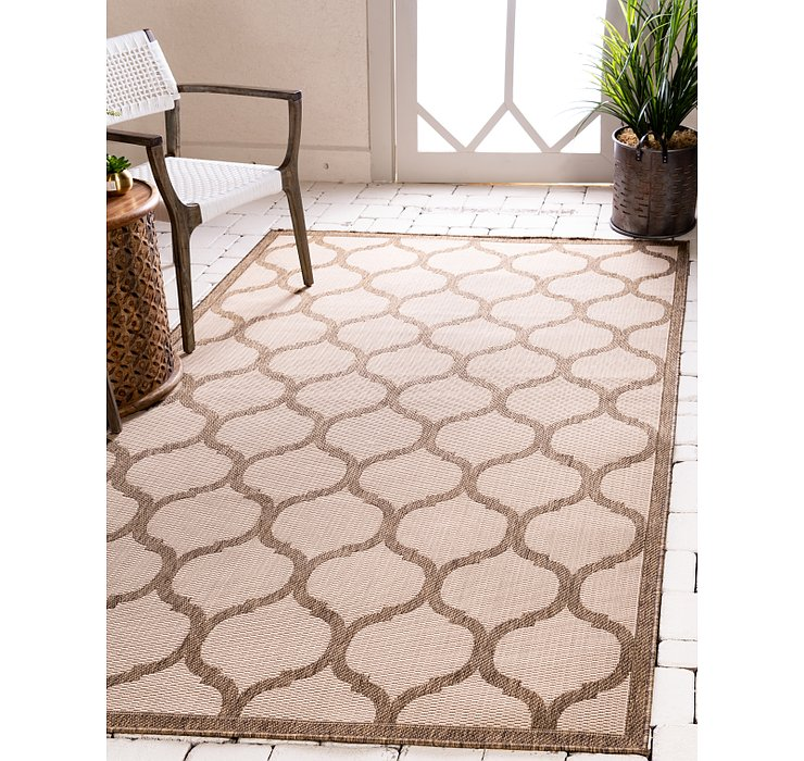 5' 3 x 8' Outdoor Trellis Rug