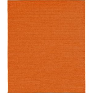8x11 Orange  Rugs!