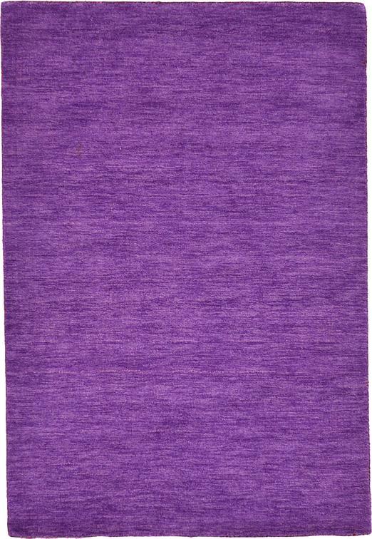 Purple 4 X 5 7 Solid Gabbeh Rug Area Rugs Irugs Uk