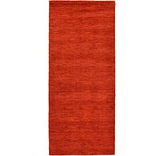 Link to 2' 7 x 6' 7 Solid Gabbeh Runner Rug