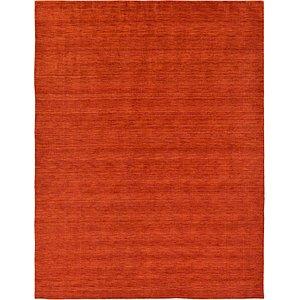 9' 10 x 13' Solid Gabbeh Rug