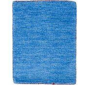 Link to 1' 4 x 2' Solid Gabbeh Rug