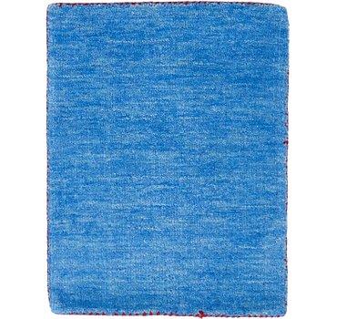 41x61 Solid Gabbeh Rug