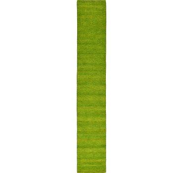79x500 Solid Gabbeh Rug