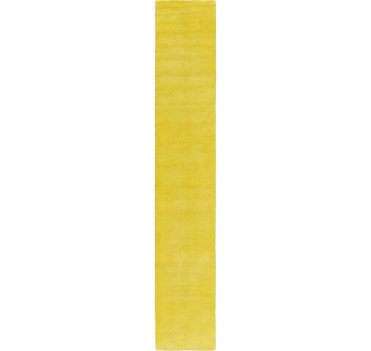 2' 7 x 16' 5 Solid Gabbeh Runner Rug