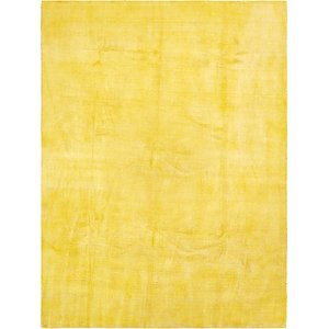 HandKnotted 9' 7 x 12' 10 Solid Gava Rug