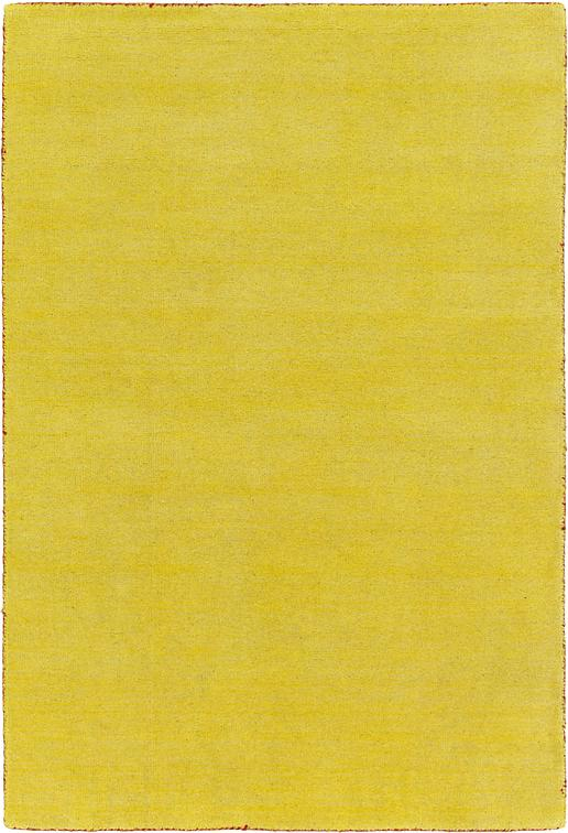 Yellow 4 X 5 7 Solid Gabbeh Rug Area Rugs Esalerugs