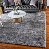 8' x 8' Luxury Solid Shag Square Rug thumbnail image 1