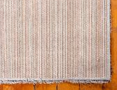 8' x 8' Luxury Solid Shag Square Rug thumbnail image 8
