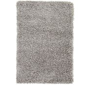 Link to 2' 2 x 3' Luxe Solid Shag Rug