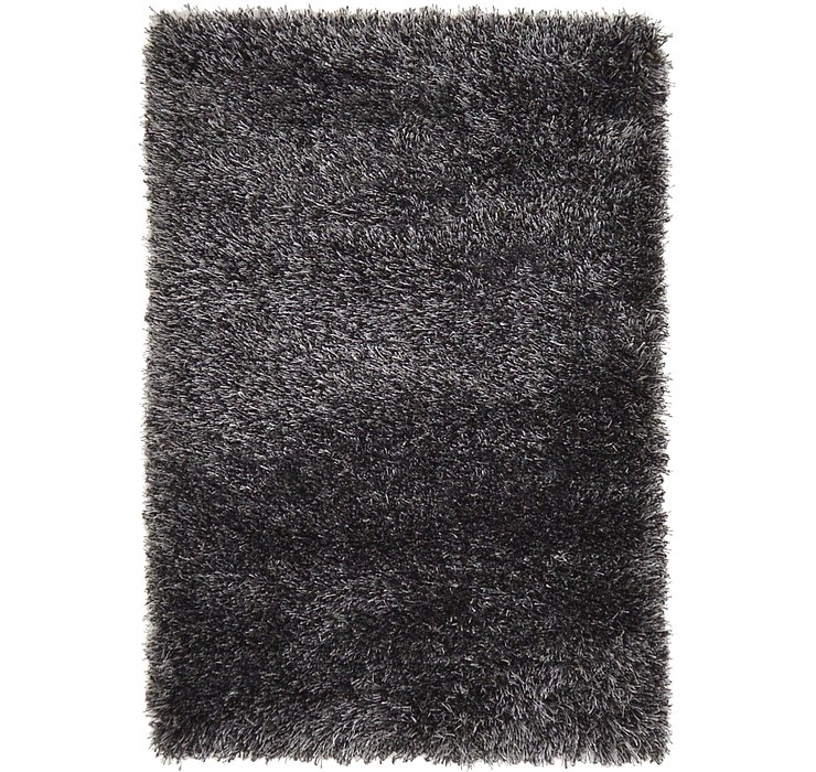 2' 2 x 3' Luxe Solid Shag Rug