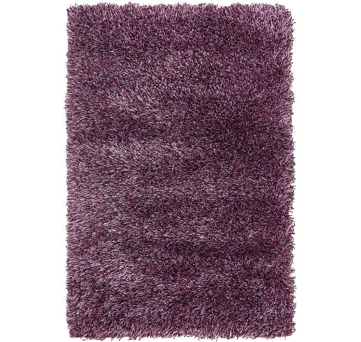 65cm x 90cm Luxe Solid Shag Rug