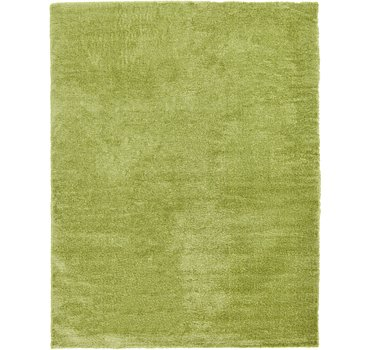 371x488 Luxe Solid Shag Rug